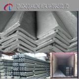 Ángulo galvanizado Q235 del acero suave de Ss400 St37