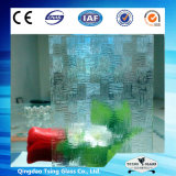 tarjetas Tempered claras del corte del vidrio de 5m m con la impresión de la pantalla de seda