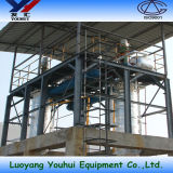 Используется фильтрация масла в двигателе машины (YHE-4)