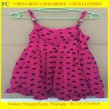 卸売は使用した衣類、中国からのベールの使用された衣服、アフリカ人(FCD-002)のための熱い販売法の秒針の衣服を