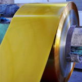 Fatura dourada eletrolítica das latas do Tinplate da laca do produto comestível de JIS G3303