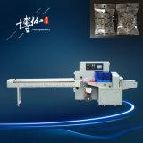 Usine semi-automatique de machine à emballer de flux de récureur de coût bas