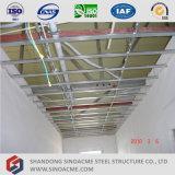 Casa prefabricada moderna de la estructura de acero de China