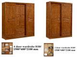 Mobilier en bois de chêne chinois de haute qualité, meubles Kd, armoire (602)