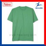 La vendita superiore Teamwear di Healong ha tagliato & cuce la maglietta normale respirabile
