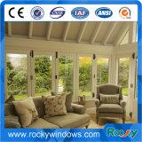 Rocky nouveau design de style classique de la fenêtre de pliage en aluminium