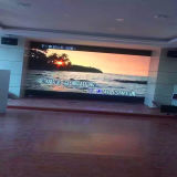 Écran de location de panneau d'Afficheur LED de la carte vidéo P10 d'intérieur pour annoncer (FCC ccc de RoHS de la CE)