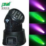 Hy LED移動ヘッドライト18PCS 3W RGB洗浄