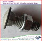 Noix de bride de la plaque DIN6923 M22 de zinc