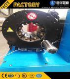 Máquina de friso da mangueira hidráulica automática do PLC da potência do Finn usada no campo hidráulico