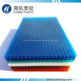 고품질 온실을%s 다채로운 플라스틱 장 폴리탄산염 구렁 장