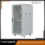 Estante de cristal del servidor de red de la puerta 24u 28u 32u 37u 42u de Finen