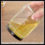 Duidelijke Hexagon Kruik/de Kruik van de Honing van het Glas