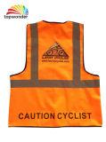 Personalizar o colete de segurança reflexivo de dupla camada, Segurança reflexivo Veste roupas de segurança refletora