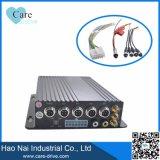 Cartão SD 3G DVR com cartão SIM 4CH DVR móvel para o barramento/ máquina / Táxi