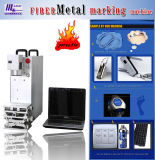 Machine de gravure en métal de laser de fibre, graveur de laser