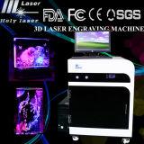 гравировальный станок лазера 3D для кристаллов или стеклянного печатание (HSGP-2KD)
