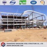 Construction commerciale en acier lourde avec les étages multi