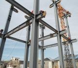 鉄骨構造の家のプロジェクトのプレハブの建物