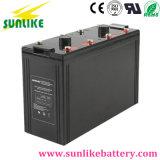 bateria profunda acidificada ao chumbo da potência solar do ciclo 2V3000ah para o UPS