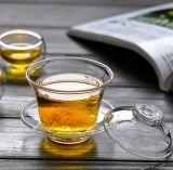 Insiemi di tè di vetro personalizzati di Kung Fu della ciotola del tè della tazza di tè di marchio