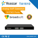 Yeastar 4/8/16/24/32 Ports FXO / FXS Passerelle Analogique VoIP SIP basée sur Asterisk en option