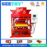 Saleté positive du maître 7000 d'Eco et machine de verrouillage automatique de construction de machine de brique d'argile
