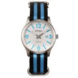 Relógios de quartzo da marca Intimes com o Japão Movt o tirante de nylon (-1066)
