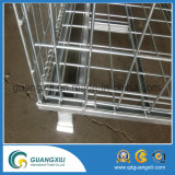 Gaiolas galvanizadas Foldable e Stackable do metal