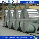 Tôle d'acier galvanisée plongée chaude en bobines/bobines de Gi/tôle acier enduite de zinc dans les bobines