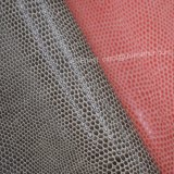Couro gravado do plutônio do falso, couro artificial do saco