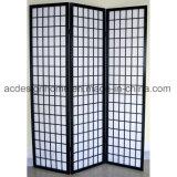 Sezioni cinesi di stile giapponese 3 non tessute/schermi dello Shoji & divisori pieganti di legno