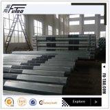 Potencia poste de acero galvanizada octagonal