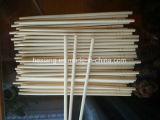 Cena redondo de bambú Palillos