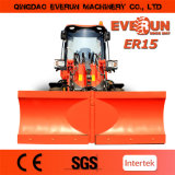 Everun BrandのセリウムApproved 1.5ton Articulated Mini Wheel Loader Farm Machinery