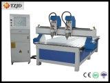 De dubbele CNC van de As Houten Machine van de Gravure van de Steen van het Metaal