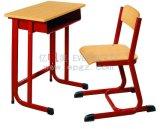 학교 가구 나무로 되는 학교 단 하나 책상 및 의자
