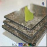 Panneau en aluminium incurvé de nid d'abeilles avec l'enduit de PVDF