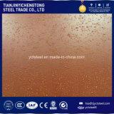 Rostige Stahlplatte Corten Stahlplatte Corten ein Stahlblech