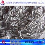 tube de l'aluminium 3003 1060 dans la surface lumineuse avec l'épaisseur mince