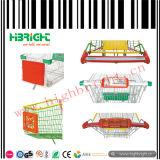 Рамка индикации магазинной тележкаи передняя рекламируя