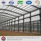 Gruppo di lavoro chiaro prefabbricato della struttura d'acciaio di fabbricazione di Sinoacme Cina