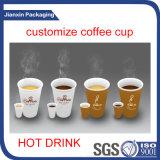 De hete het Drinken Kop van de Koffie met Deksel