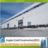 Taller profesional de la estructura de acero y almacén de la estructura de acero