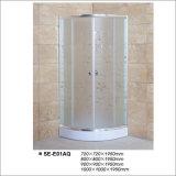 Acid Glass Sliding Door Shower Room for Hotel and Home