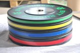 Olympic Plate training Rubber Bumper Weight Plate
