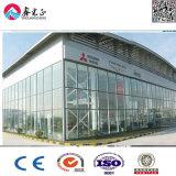Salón de muestras ligero prefabricado de la estructura de acero