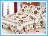 パッチワーク100%Cottonのキルトのベッドの設定3PCS及び4PCS