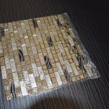 Oro caldo di vendita e mattonelle di mosaico bianche di cristallo