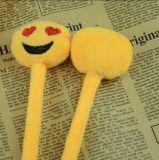 Pluma de encargo linda de la felpa de Emoji